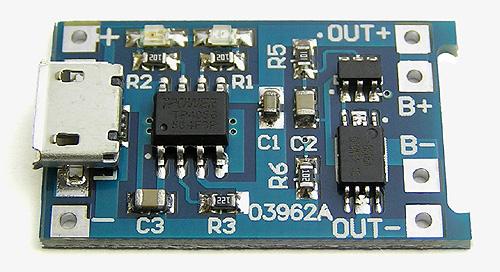Контроллер зарядки аккумулятора