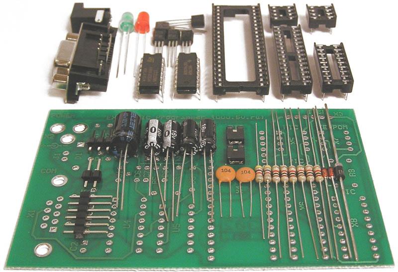 ...радиоконструктор EXTRAPIC-1 и EXTRAPIC-2. EXTRAPIC Программатор PIC...